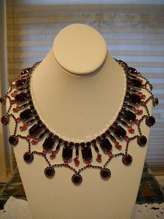 Stunning Dominique Egyptian Style Bib Necklace by Lynvia on Etsy, $300.00