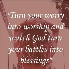 From worriers to warriors. Amen! Pray until something happens (PUSH) #faith #belief #God #Prayer