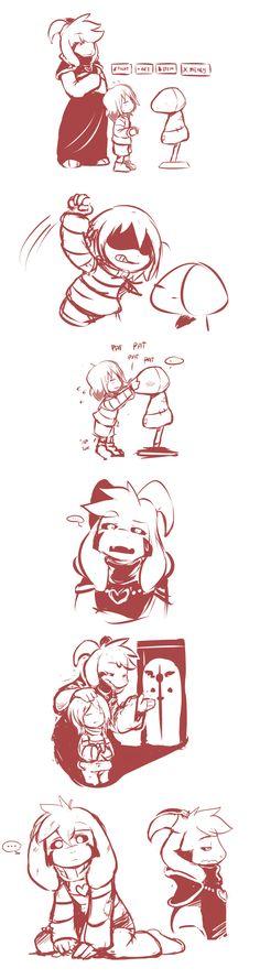 Asriel,Asriel Dreemurr,Undertale персонажи,Undertale,фэндомы,Frisk,Undertale комикс,Undertale AU,artist,sketchit26