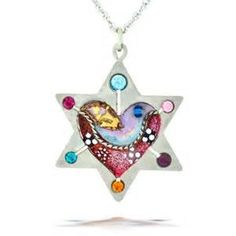 jewish star necklace that turns into a heart - Yahoo Image Search Results