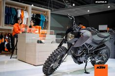 KTM Duke 200 custom grey 10 off-road