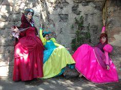 Lady Tremaine, Anastasia and Drizella. Walt Disney World, 2009.