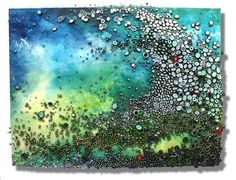 coral reef painting | THIS. --> Intricate Textured Paintings Resemble Coral Reefs | Art