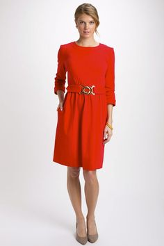 Perfect dress for the holidays.  #12DaysofMcKay #elizabeth_mckay