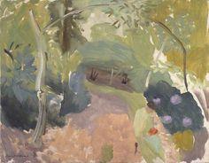 Spring Landscape,  Ivon Hitchins