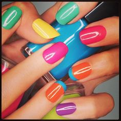 The Best Summer Nail Colors Trends to Try Now: Summer Nail Polish Colors 2013 – Vitkoo Travel and Fashion Tips Fancy Nails, Cute Nails, Pretty Nails, Nails Polish, Nail Polish Colors, Gel Nails, Fabulous Nails, Gorgeous Nails, Nail Paint Shades