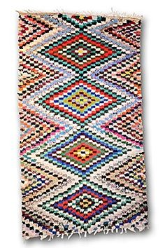 Boucherouite rug // Fenton