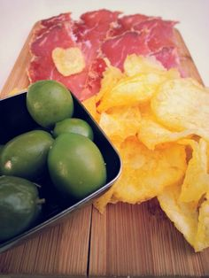 Snacks in Andalusia. #Ham and #Olives.