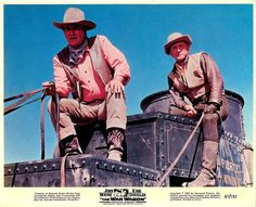 John Wayne And Kirk Douglas - The War Wagon