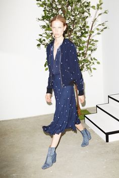 Derek Lam 10 Crosby Resort 2016 Fashion Show - Look 14
