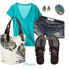 Summer - Polyvore seriously want that tote