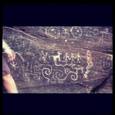 South Mountain Hohokam Petroglyphs