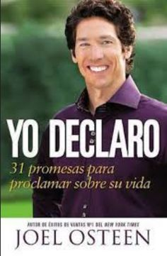 """Read """"I Declare 31 Promises to Speak Over Your Life"""" by Joel Osteen available from Rakuten Kobo. Based on a regular, favorite feature of Joel Osteen's sermons, I DECLARE helps readers claim God's blessings for their l. Joel Osteen, Pastor Joel, Powerful Scriptures, Lakewood Church, Oprah Winfrey Network, Habits Of Successful People, Emotional Healing, Gods Promises, Your Life"""