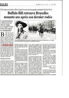 Buffalo Bill retrouve Bruxelles nonante ans après son dernier rodéo (12&13 octobre 1996)