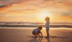 Pastel Sunrise by Jennifer McCarren Kids Beach Photos, Beach Kids, Beach Pictures, Children Photography, Family Photography, Lifestyle Photography, Photography Tips, Sunrise Photography, Flower Photography