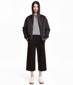 Culottes-housut | Musta | Naiset | H&M FI
