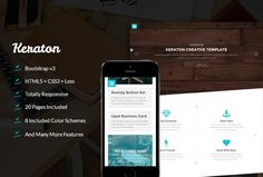 Keraton - Modern Corporate Template by Suave Digital on Creative Market