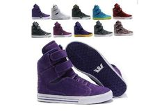 Justin Bieber Supra Shoes For Girls TK Society High Top All Purple Suede White clearance this chirstmas day Purple Sneakers, Purple Shoes, Purple Suede, Supra Shoes Men, Supra Sneakers, Supra Trainers, Supra Footwear, Top Shoes, Me Too Shoes