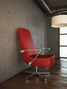 Red Chair - 3D