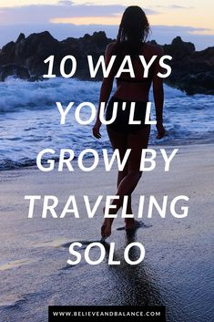 If you've ever been tempted by the thought of #traveling alone, it's time to give the idea a little more consideration. Planning a solo trip can be slightly terrifying, but if you're willing to push yourself and get out of your comfort zone, you may be amazed to see how much you get out of the experience. #travel #vacation #mindset