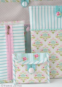 Pretty Sewn Accessories with Tilda fabric