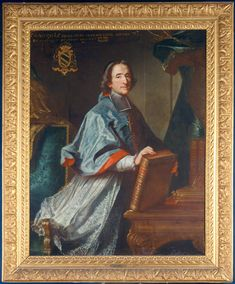 Msgr. François de Salignac de La Mothe-Fénelon, Archevêque-Duc de Cambrai & Pair de France (1651 - 1715). / By Claude Bailleul, 1718.