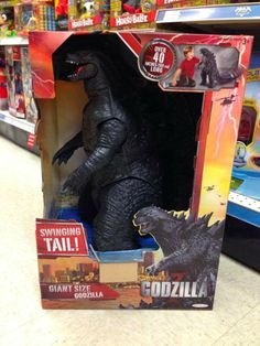 Kaiju Battle: Giant Size Godzilla 2014 In Toys R Us Already? Godzilla Figures, Godzilla Toys, Godzilla Birthday Party, Dinosaur Birthday, King Kong Vs Godzilla, Classic Horror Movies, Lego Super Heroes, Toys R Us, Cool Toys