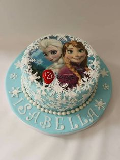 Torta Frozen 100 % Comestible