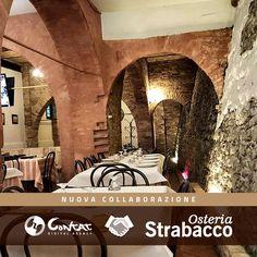 Oggi è l'inizio di una nuova collaborazione con Osteria Strabacco di Teramo! #strabaccoteramo #contat #collaborazione