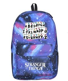 backpack mochila on sale at reasonable prices, buy 2018 new Stranger Things backpack student schoolbag women shoulder travel bag boy Notebook canvas Teenage Girl Backpacks Mochila from mobile site on Aliexpress Now! Stranger Things Dress, Stranger Things Halloween, Stranger Things Quote, Eleven Stranger Things, Stranger Things Netflix, Cute Backpacks, Girl Backpacks, Stranger Things Merchandise, Starnger Things