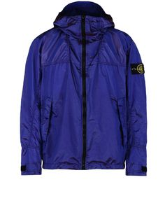 44448NYLON METAL WATRO RED WEFT Manteau Court Stone Island Homme - Official Online Store