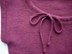 Вязание: обработка горловины