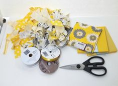diy shabby yellow ga