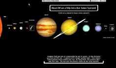 Google Image Result for http://1.bp.blogspot.com/_bha2lKSpklQ/S8cd5B9fVEI/AAAAAAAAAIw/SxGij3woNVE/s1600/our%2Bsolar%2Bsystem.bmp  The different types of planets have been arrange in a straight horizontal line. This gives a clear simple presentation of the order of planets in the solar system.