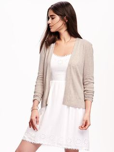 Open-Front Cardigan for Women