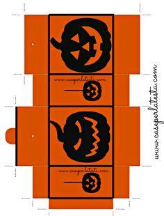 Caja-bolsa Halloween