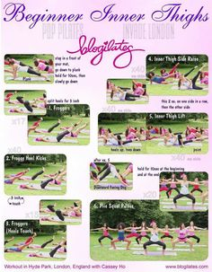 Inner thigh workouts