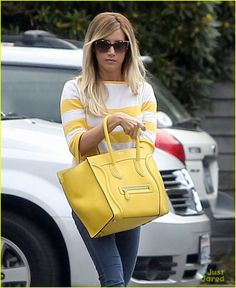 Ashley Tisdale runs some errands on Wednesday afternoon (July 24) in Santa Monica, Calif.
