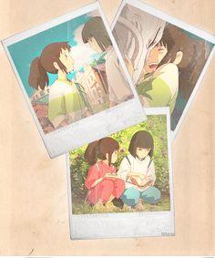 Sen and Haku (Spirited Away)