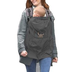 Waterproof Wind & Rain Cover for Baby Carrier Jacket - ScooterBugDesign.com