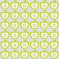 FREE printable apple pattern paper ^^