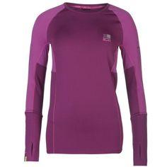 Karrimor | Karrimor Xlite Long Sleeve T Shirt Ladies | Ladies Running Clothes