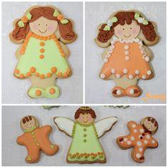 Más pruebas de decoración. Gingerbread Cookies, Seasons, Desserts, Food, Biscuits, Kitchen, Tailgate Desserts, Ginger Cookies, Meal