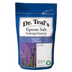 Teal's Epsom Salt Soaking Solution Relax & Relief (for the bath) Epsom Salt For Hair, Salt Hair, Lavender Scent, Epsom Salt Cleanse, Epsom Salt Foot Soak, Natural Face Moisturizer, Restless Leg Syndrome, Relax, Lavender