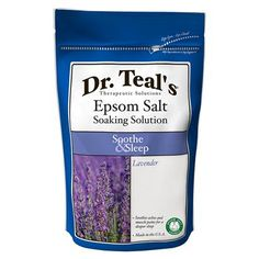 Dr. Teal's Epsom Salt Soaking Solution Soothe & Sleep - 3 lb..Opens in a new window
