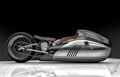 Future technology Concept Alpha Motorcycle
