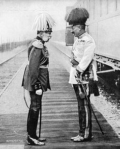 Franz Josef of Austria and Kaiser Wilhelm II of Germany