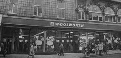 Woolies, Union Street, round about 1970?