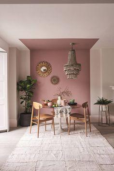Interior Design Trends, Interior Decorating, Interior Design Wall, Colorful Interior Design, Interior Painting Ideas, Home Interior Colors, Painting Designs On Walls, Home Painting Ideas, Colorful Interiors