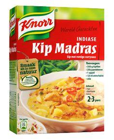 Knorr Wereldgerechten Griekse Kip Madras - Knorr.nl